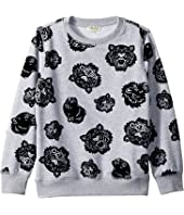 Kenzo Kids - All Over Printed Sweater (Big Kids)