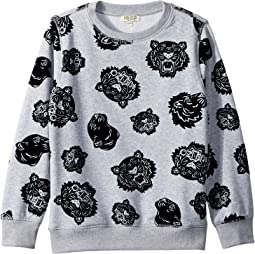 All Over Printed Sweater (Big Kids)