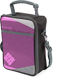 Columbia Northern Trek Upright Lunch Pack with HardBody Liner, Purple