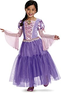 Rapunzel Deluxe Disney Princess Tangled Costume, Small/4-6X