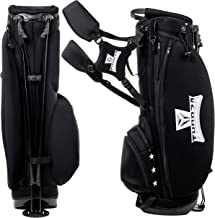 Thorza Golf Stand Bag for Men and Women – Lightweight Golf Carry Bag Stores a Complete Golf Club Set with Multiple Storage Pockets for Accessories