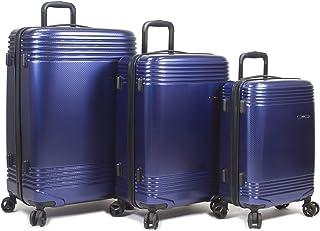 Dejuno Oracle Hardside 3-Piece Spinner Luggage Set with TSA Lock