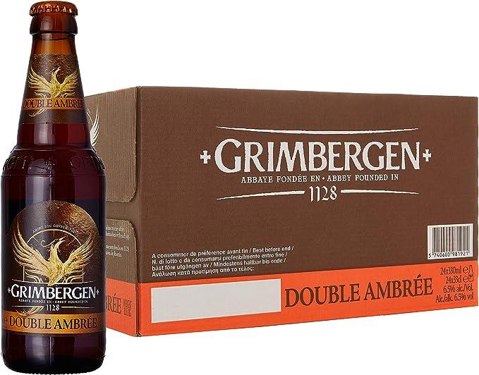 22 opinioni per Grimbergen Birra Double Ambree (Abbazia)- 24 bottiglie da330 ml