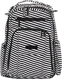 Ju-Ju-Be Onyx Collection Be Right Back Rucksack Nappy Bag, Black Magic