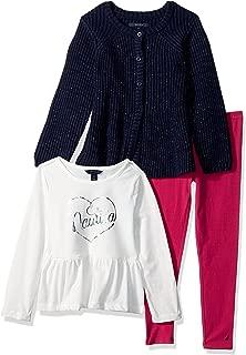 Girls' Three Piece Sweater Sets