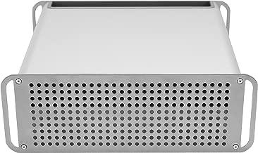 VIVO Height Adjustable Sleek Desktop Monitor Riser Stand and Storage Box for Apple iMac Displays (STAND-V000M)