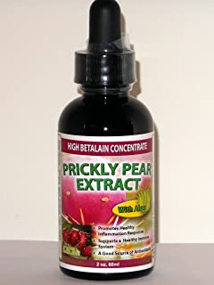 Prickly Pear Extract with Aloe (1-Pack) - High Betalain Concentrate