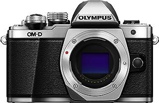 Olympus OM D E M10 Mark II Micro Four Thirds Systemkamera, 16 Megapixel, 5 Achsen Bildstabilisator, elektronischer Sucher, silber