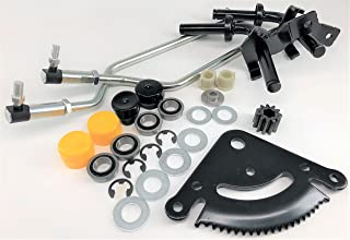 Flip Manufacturing Steering Rebuild Kit Includes Spindles Tie Rods and Sector fits John Deere LA Series