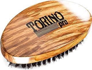 Torino Pro Wave Brush #710 By Brush King - Medium Soft Curve 360 Waves Palm Brush