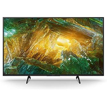 Sony KD-49XH8096 Bravia 123 cm ( 49 Zoll) Fernseher (Android TV, LED, 4K Ultra HD (UHD), High Dynamic Range (HDR), Smart TV, Sprachfernbedienung, 2020 Modell) Schwarz