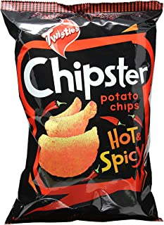 Twisties Chipster Hot and Spicy Potato Chips, 160g