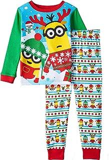 Toddler Little Boys' Christmas Holiday 2-Piece Pajama Set