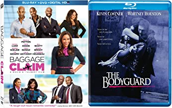 The Bodyguard [Blu-ray] Baggage Claim Blu Ray DVD 2 Pack Romantic Movie Set