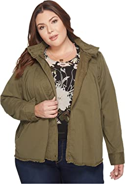 Lucky Brand - Plus Size Military Jacket