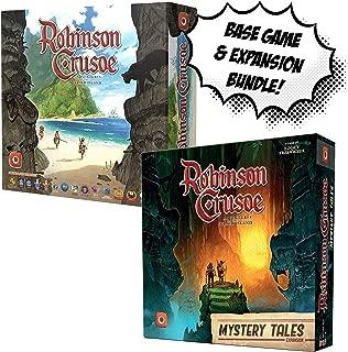 Robinson Crusoe Base Game + Robinson Crusoe: Mystery Tales! Game Bundle!