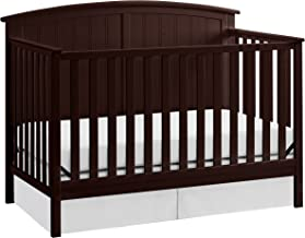 Storkcraft Steveston 4-in-1 Convertible Crib, Espresso, Easily Converts to Toddler Bed Day Bed or Full Bed, Three Position Adjustable Height Mattress, Some Assembly Required (Mattress Not Included)