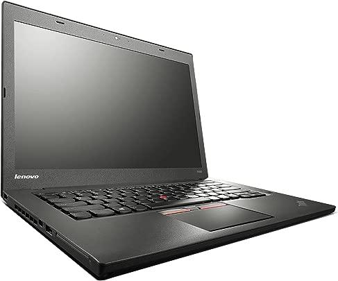 Lenovo ThinkPad T450 14 Zoll 1920 1080 Full HD Intel Core i5 256GB SSD Festplatte 8GB Speicher Win 10 Pro Webcam Bluetooth Notebook Laptop Ultrabook  Zertifiziert und General berholt