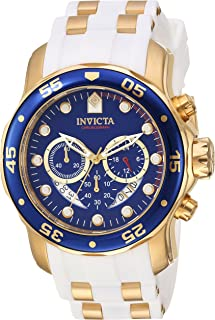 Best invicta white and gold watch Reviews