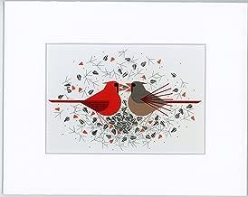 charley harper cardinal courtship