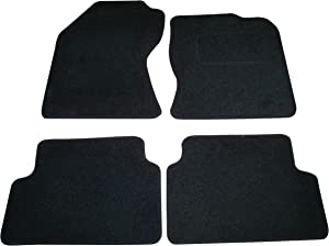 Sakura SS4541 Carpet Floor Mat  Black Trim