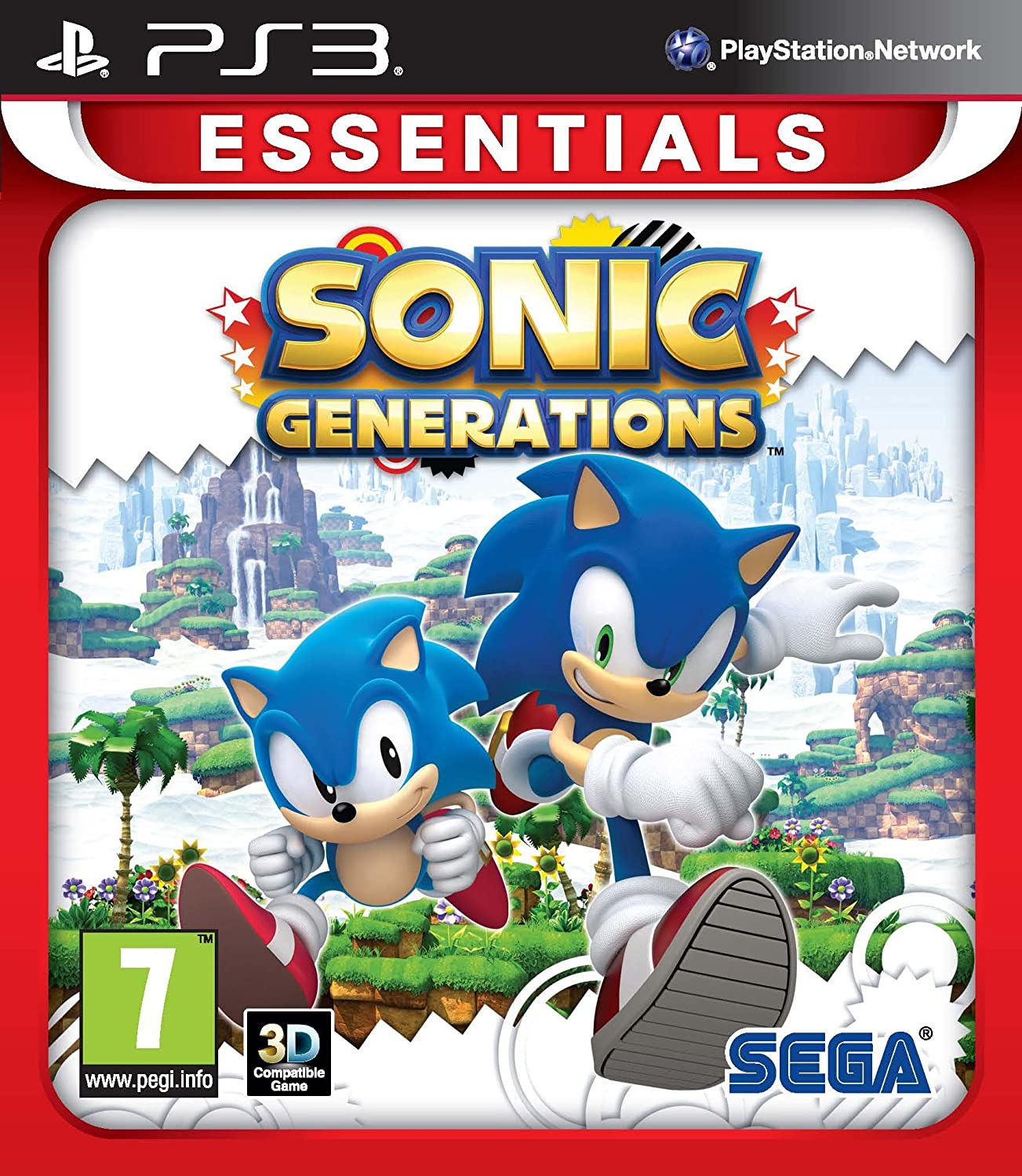 Sonic Arlington Mall Generations: low-pricing PS3 Essentials