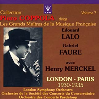 Collection Piero Coppola conducts the Great Masters of French Music - Volume 7 - Lalo: Overture to