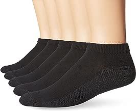 Hanes Men's FreshIQ ComfortBlend Low Cut Socks (Pack of 6)