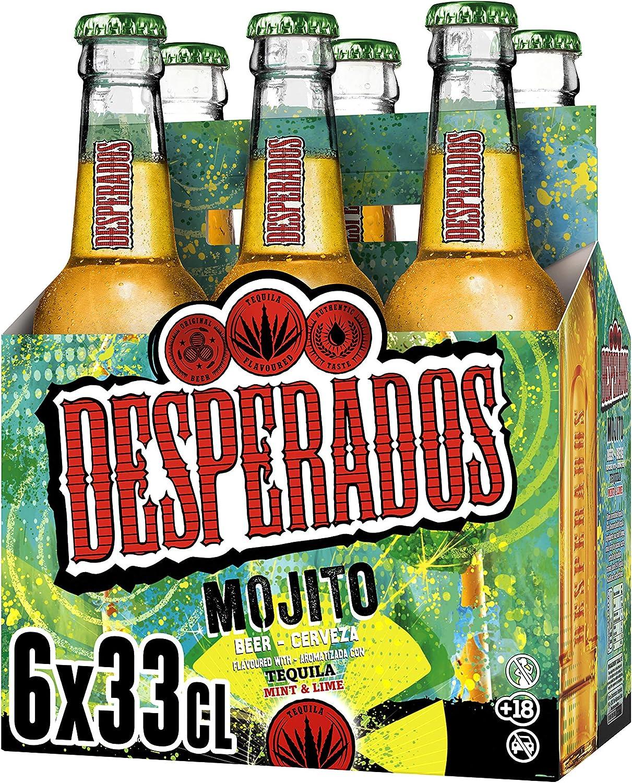 Desperados Mojito Cerveza, 6 x 330ml: Amazon.es: Alimentación ...