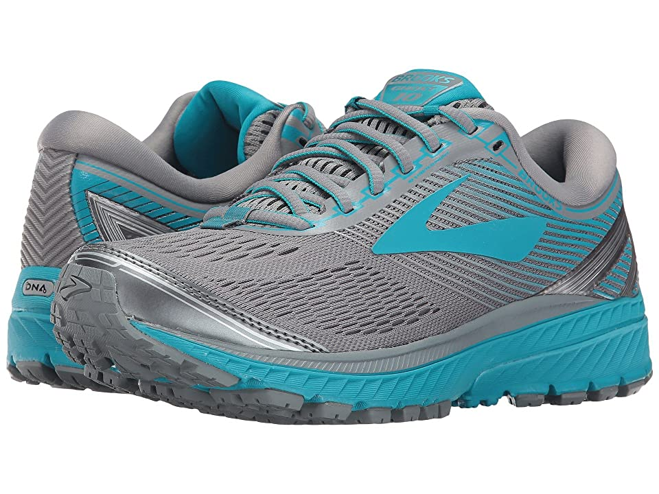 Brooks Ghost 10 (Primer Grey/Teal Victory/Silver) Women