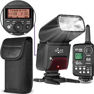 Camera Flash with Manual Trigger for Canon by Altura Photo - AP-305C 2.4GHz E-TTL Speedlite for DSLR and Mirrorless