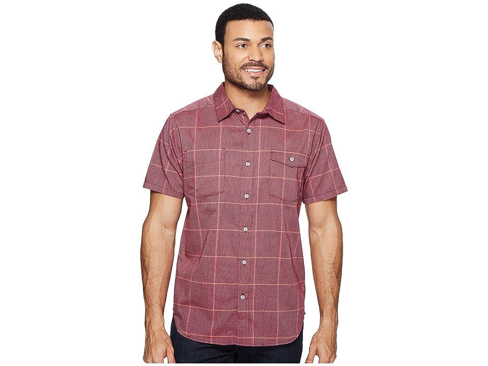 Mountain Hardwear Landis Short Sleeve Shirt (Cote du Rhone) Men