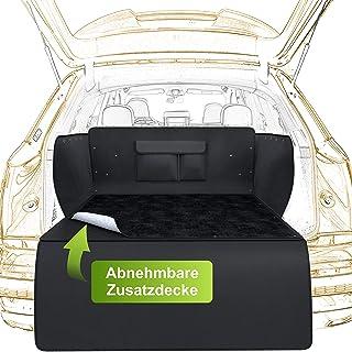 WhizProducts Protection pour chien, convient au coffre de voiture, avec couverture supplémentaire amovible et protection d...