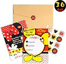 Best mickey & minnie mouse invitations Reviews
