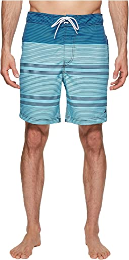 Engineer Stripe Swim Trunk