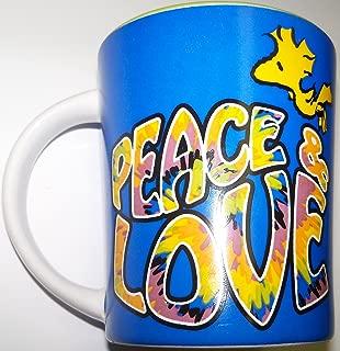 Peanuts Woodstock 15 oz. Coffee Mug ~ Peace & Love