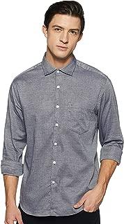 Indigo Nation Men's Solid Slim Fit Casual Shirt