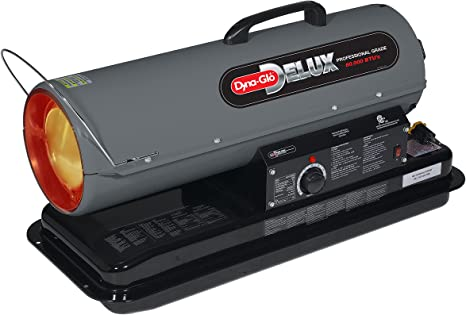 Dyna-Glo Delux KFA80DGD Kerosene, 80K BTU Forced air Heater, 80,000: image
