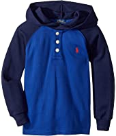 Polo Ralph Lauren Kids - Waffle-Knit Cotton Hoodie (Toddler)