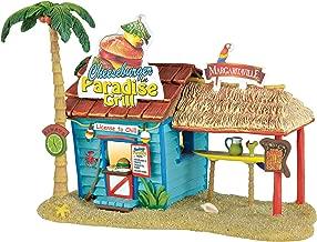 Department 56 Margaritaville Paradise Grill Musical Village Lit Building, Multicolored