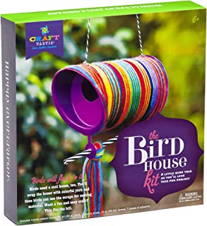 Craft-tastic – DIY Bird House – Spring Arts and Crafts Kit for Kids