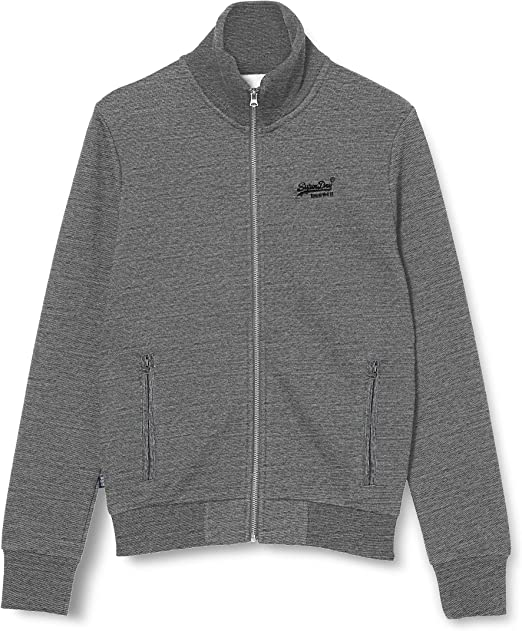 TALLA XS. Superdry Collective Blk EDT. Track suéter para Hombre
