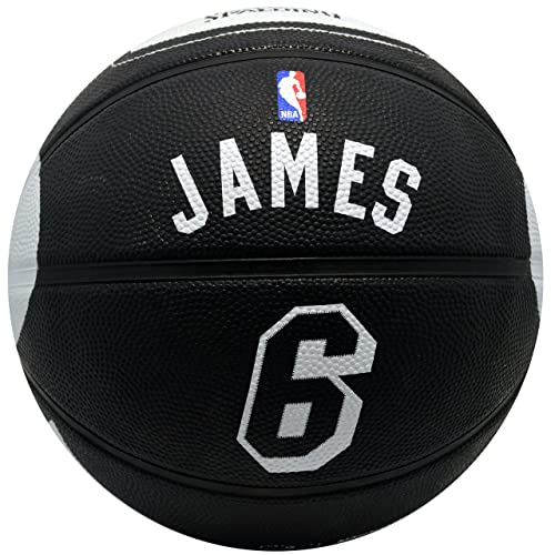 Spalding Miami Heat Lebron James  6 Jersey Rubber Basketball 14d451fd0