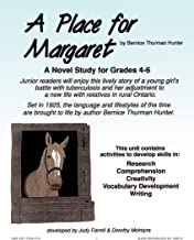 STUDY GUIDE - A PLACE FOR MARGARET Gr. 4-6