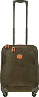 Bric's Life 21 Inch International Spinner Carry-On Luggage, Olive