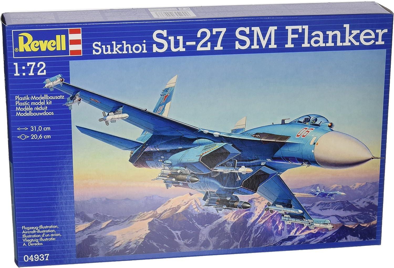 Revell Super sale Monogram Germany Sukhoi Su-27 SM Model Kit 1 Flanker Easy-to-use 72