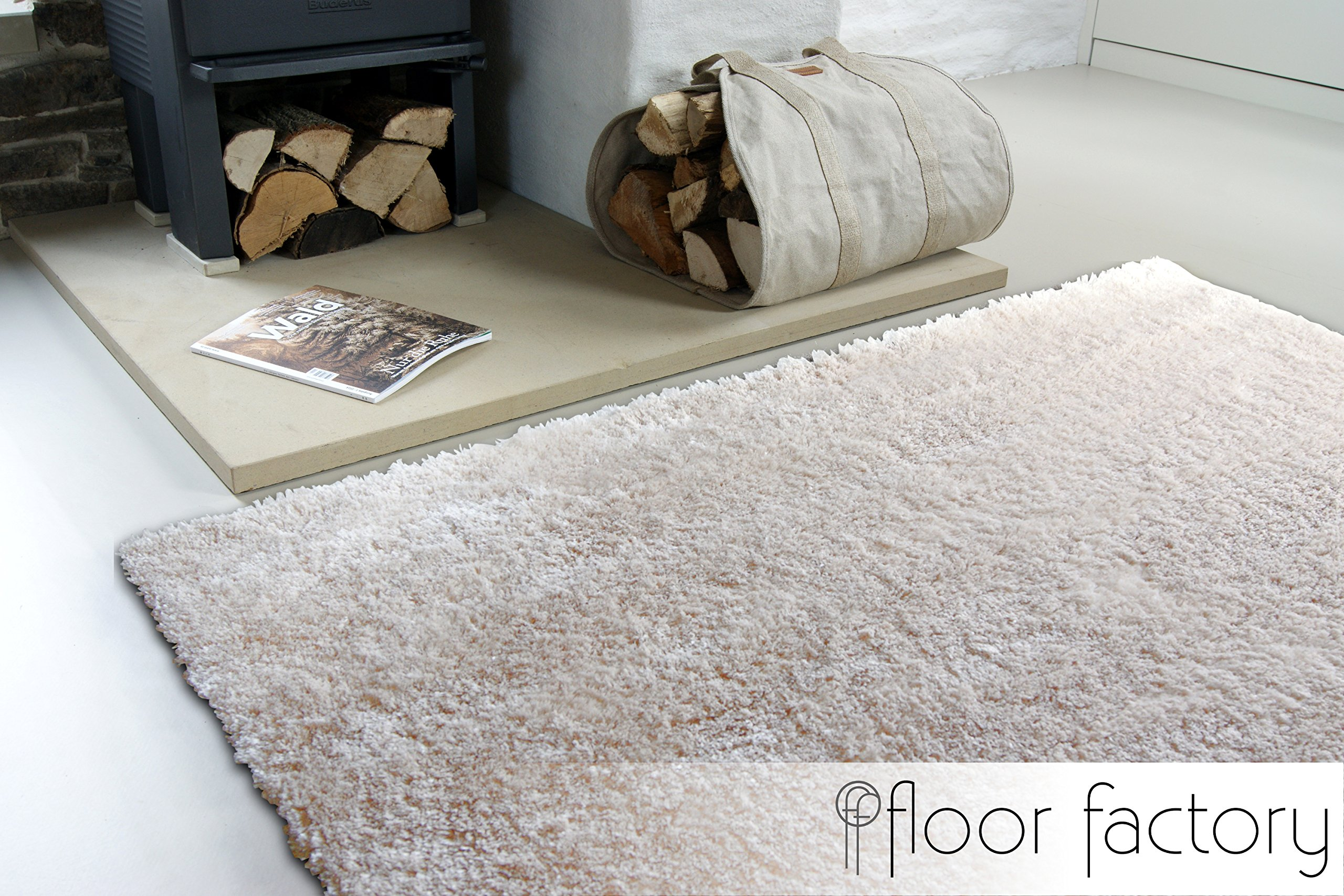 floor factory Alfombra Moderna Delight Beige 80x150cm - Alfombra ...