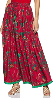 MAX Women's Printed Maxi Skirt