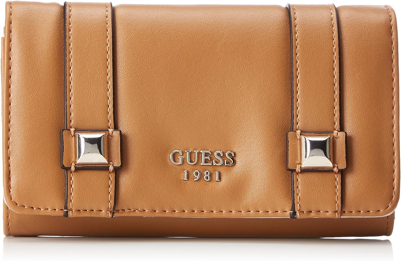 Guess Slg Wallet, Women's Brown (Tan), 3x10x17 cm (W x H L)