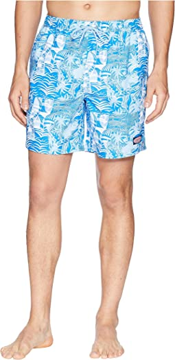 At Sea Patchwork Chappy Swim Trunks